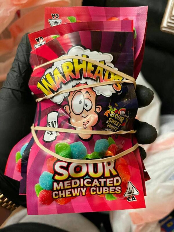 warhead edibles